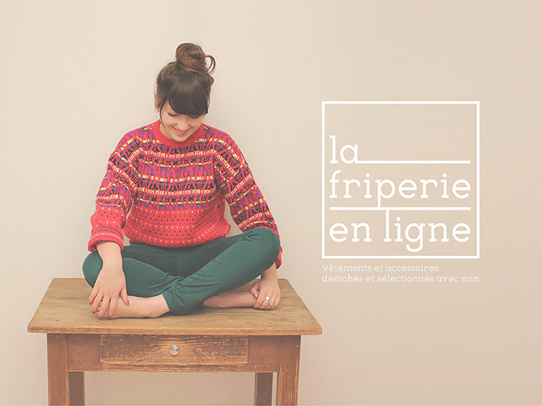 la friperie en ligne photo logo