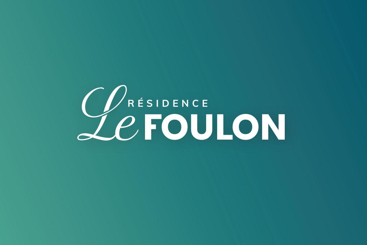Résidence Le Foulon création de logo