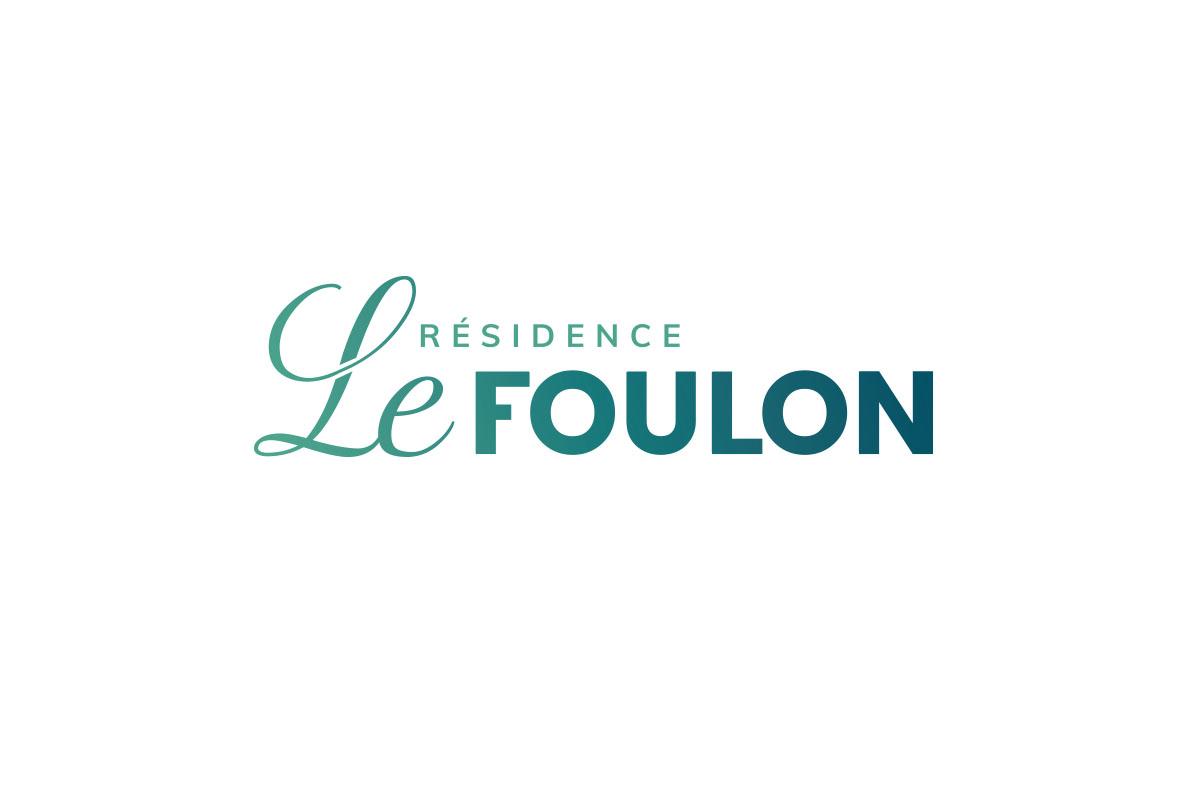 Réalisation de logo Résidence Le Foulon